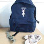 Sac à dos bleu marine Ophélie