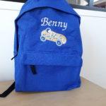 Sac à dos bleu roi Benny