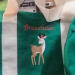 Vert anses écrues Brunehilde