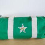 Vert anses écrues étoile